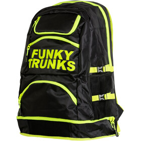 Funky Trunks Elite Squad Zwem- en Tri Transition rugzak geel/zwart